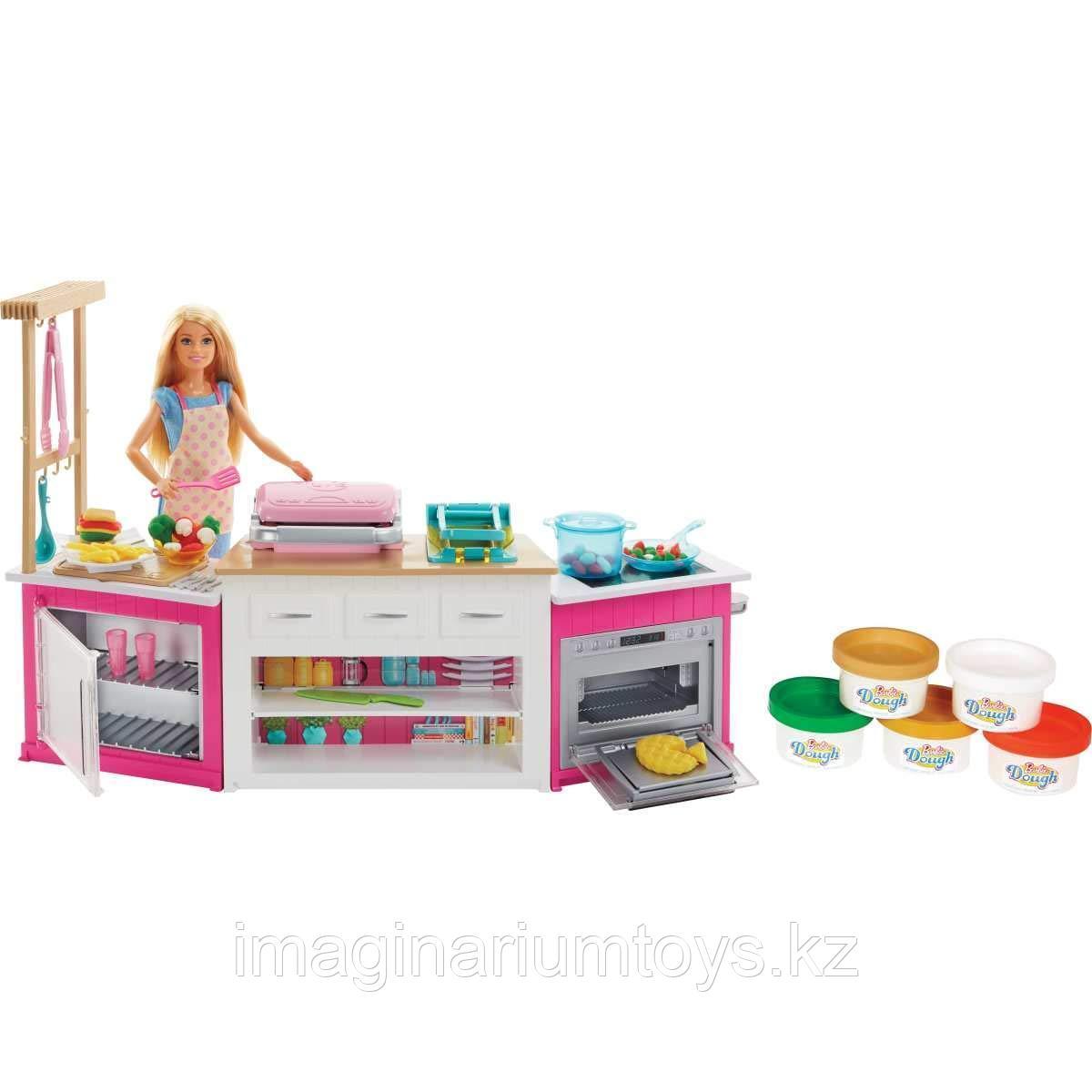 "Barbie набор ""Большая супер кухня Барби"""