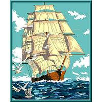 Канва с рисунком Каролинка 'Попутный ветер' 31*39 см