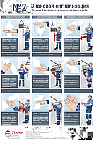 Техника Безопасности Грузоподъемных Работ Лист №2 - Знаковая Сигнализация
