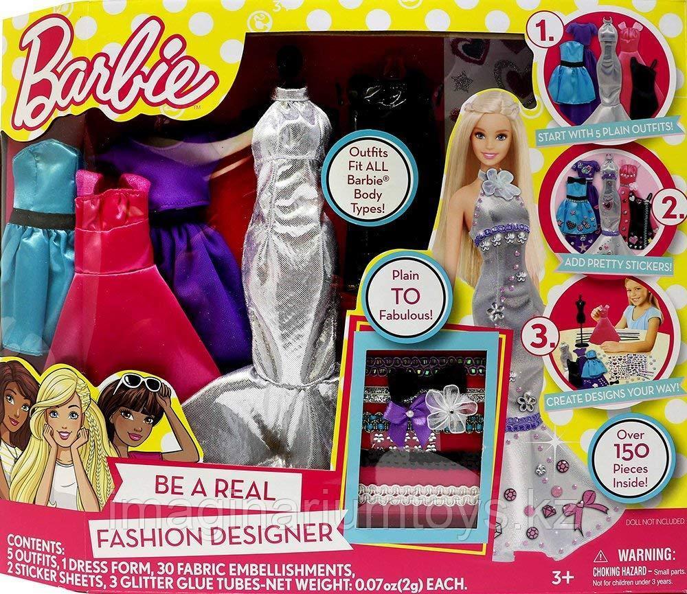 Одежда для кукол Барби Barbie. Большой набор для творчества