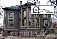 Обрамление декором фасад дома