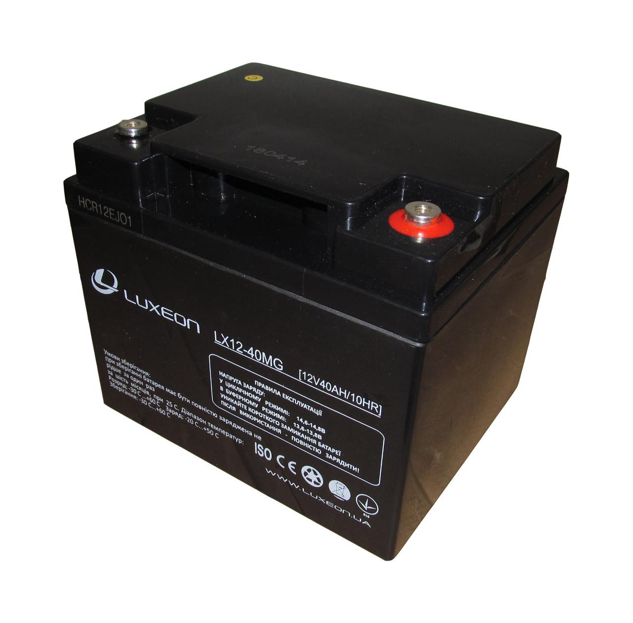 Аккумуляторная батарея 12В 40Ач