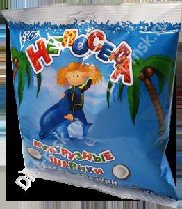 """Шарики кукурузные, кокосовые 50гр """"Непоседа"""""""