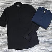 Мужская рубашка лен, фото 1
