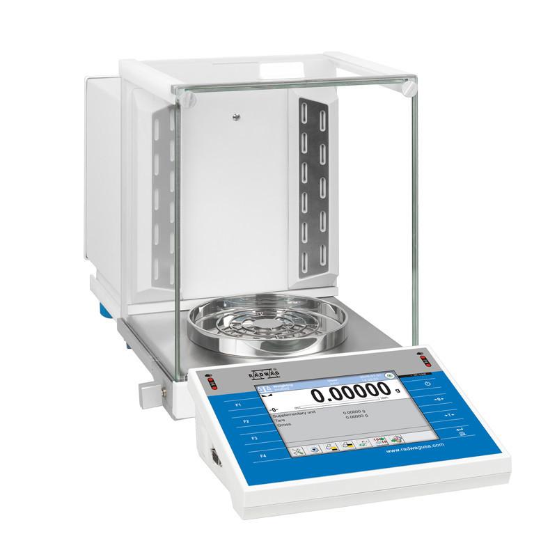 Аналитические весы со встроенным ионизатором воздуха ХА 110.4Y.A
