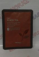 Tony Moly The Black Tea Mask Sheet - Антивозрастная тканевая маска с чёрным чаем