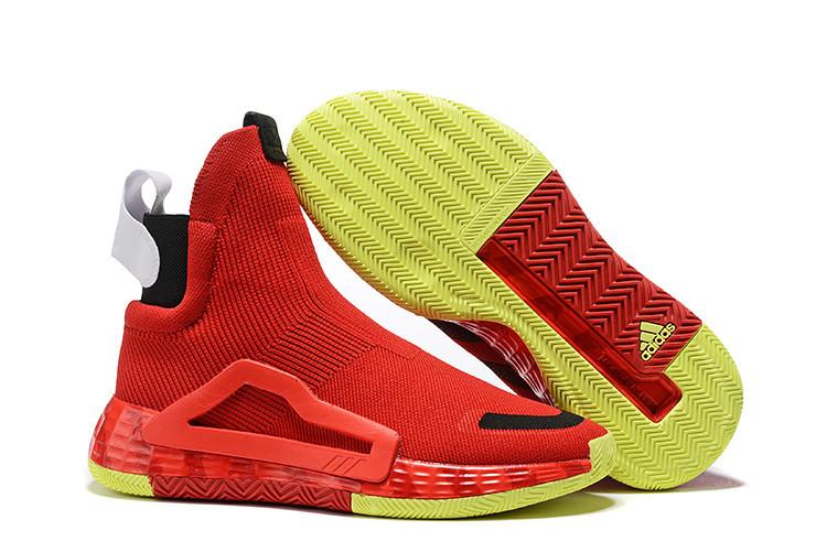 Баскетбольные кроссовки Adidas N3XT L3V3L  ( Next Level ) Red