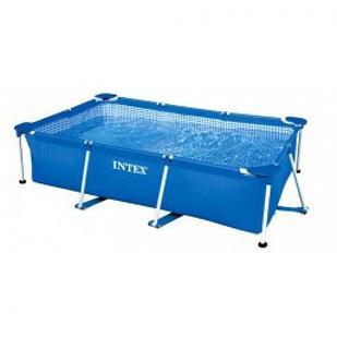 Каркасный бассейн Intex 28272 Rectangular Frame Pool, 300х200х75см