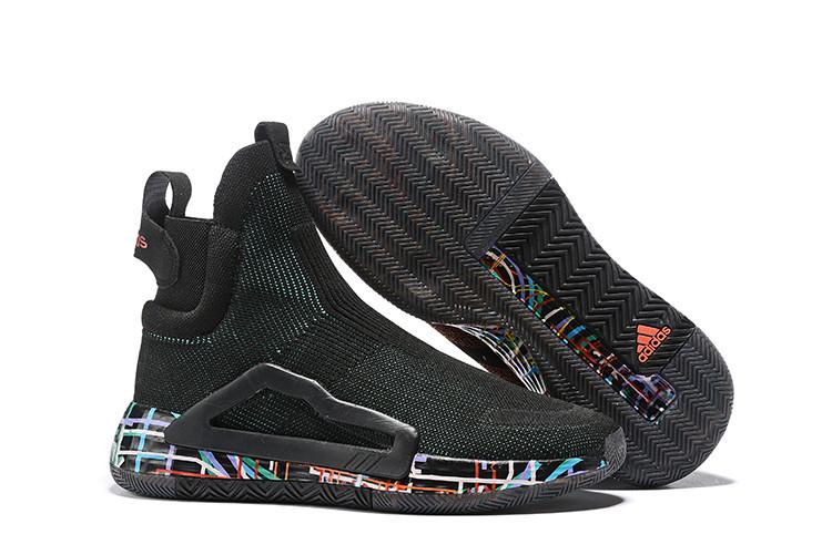 Баскетбольные кроссовки Adidas N3XT L3V3L  ( Next Level ) Black