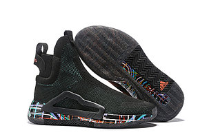 Баскетбольные кроссовки Adidas N3XT L3V3L  ( Next Level ) Black, фото 2
