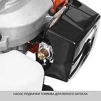 Триммер бензиновый (бензокоса), ЗУБР КРБ-350, 32,5см3, 1,1 л.с./0,8 кВт, фото 3