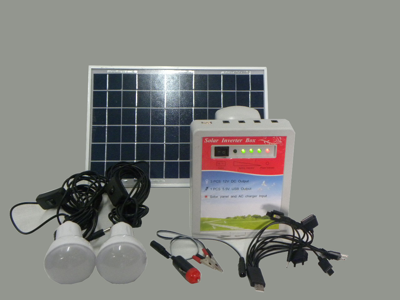 Мини-электростанция с солнечной панелью Solar Energy Kit