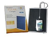 Power bank 3000 mAh с солнечной батареей для зарядки мобильных устройств