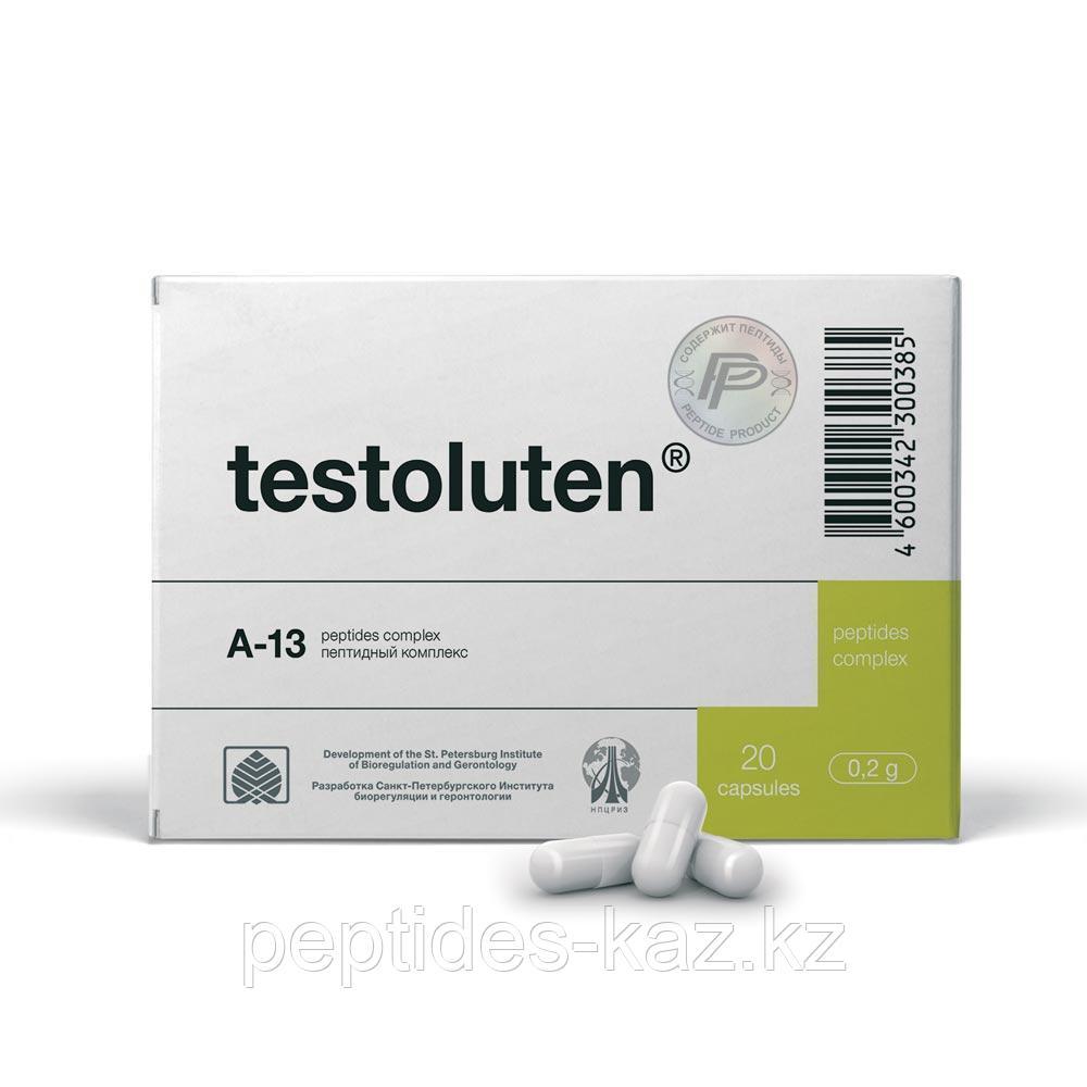 ТЕСТОЛУТЕН 20 пептиды для семенников