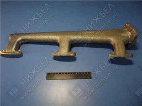 Труба водяная левая ЯМЗ-238 (238-1003291-В)