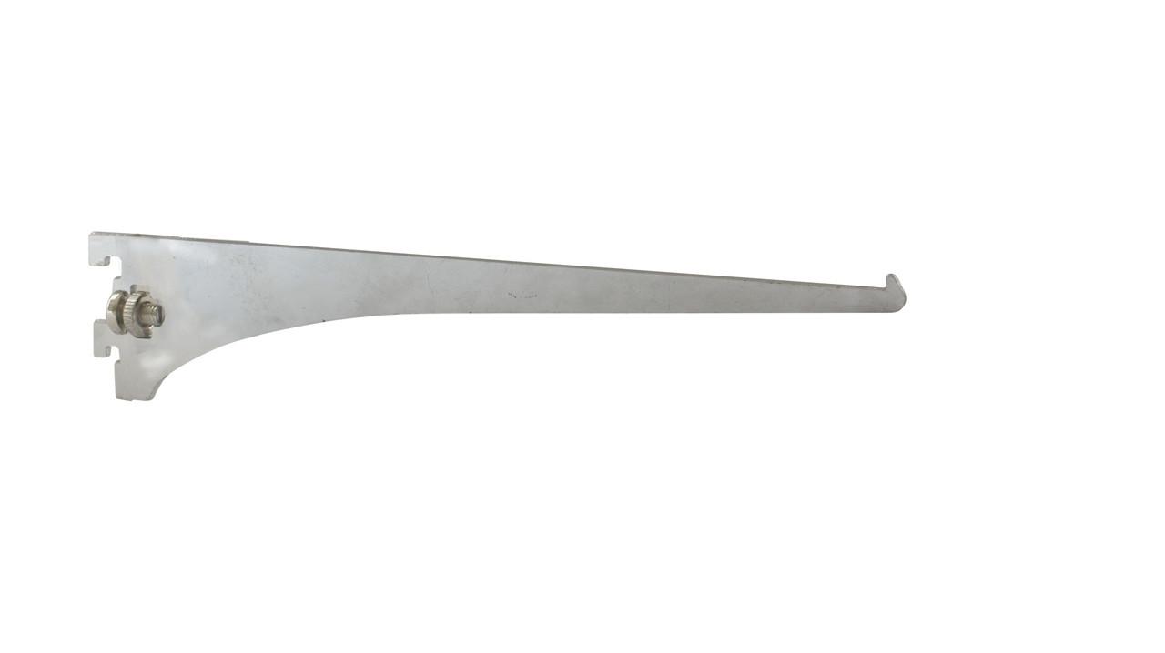 Торговое оборудование - Полкодержатель для стекла хром на Vertikal 300мм