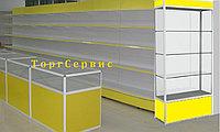 Торговое оборудование в Астане витрины,прилавки, стеллажи