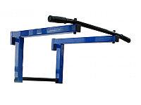 Турник навесной для ДСК и шведской стенки синий-черный