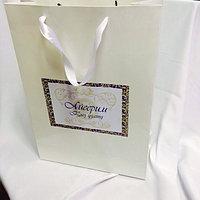 Пакеты бумажные подарочные, фото 1