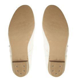 Туфли народные женские, длина по стельке 20,5 см, цвет белый - фото 4