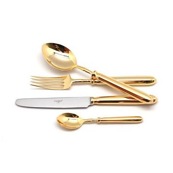 Набор столовых приборов Mitnos Gold, 72 предмета