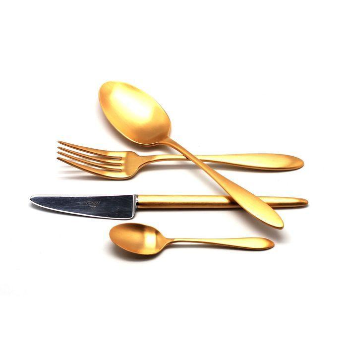 Набор столовых приборов Van Der Rohe Gold, 24 предмета