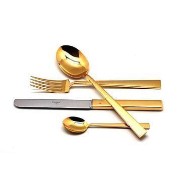 Набор столовых приборов Bauhaus Gold, 24 предмета