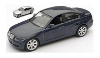 BMW 3 серия серебристый металлик 1/32
