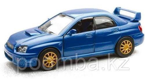 Subaru WRX синий металлик 1/32