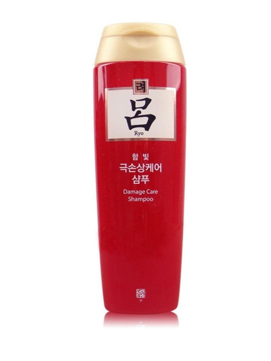 Шампунь для поврежденных волос Ryo Damage Care Shampoo 180g.