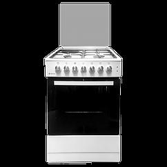 Газовая плита с электрической духовкой  606031. 12гэ 001 (кр) ЧР Deluxe
