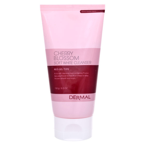 Пенка для умывания Dermal Cleanser Foam Cherry Blossom 150g