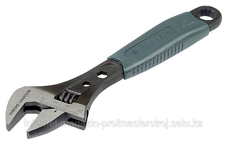 Ключ разводной 25 x 200 мм, CHROMAX, серия PROFI, STAYER