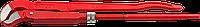 """Ключ трубный с изогнутыми губками тип """"S"""" №3 2"""", 560 мм, серия «ПРОФЕССИОНАЛ», ЗУБР"""