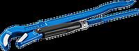 """Ключ трубный с изогнутыми губками тип """"S"""" №1 1"""", 300 мм, серия «ПРОФЕССИОНАЛ», ЗУБР"""