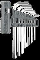 Набор ключей имбусовых HEX 1.5 - 10 мм, длинные, 9 предметов, серия «PROFESSIONAL», ЗУБР