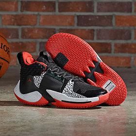 Баскетбольные кроссовки  Jordan Why Not Zero.2 Black\Red