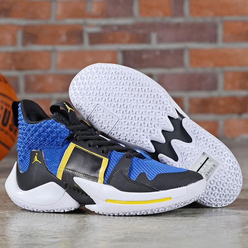 Баскетбольные кроссовки  Jordan Why Not Zero.2 Blue