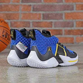 Баскетбольные кроссовки  Jordan Why Not Zero.2 Blue, фото 2