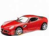 Alfa Romeo 8C красный 1/32 инерционная