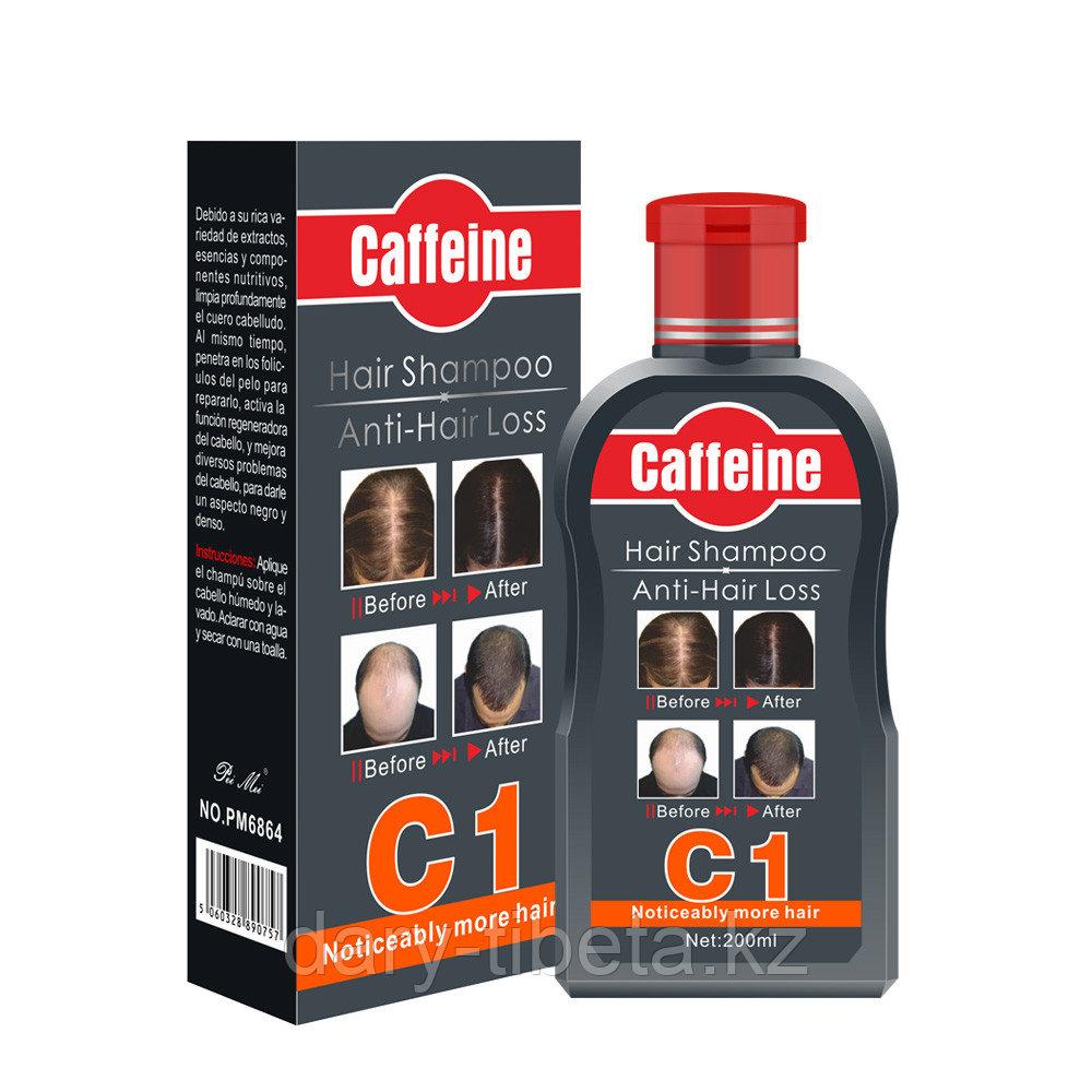 Caffeine - Шампунь от выпадения волос с С1