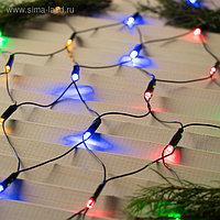 """Гирлянда """"Сеть"""", на елку с кольцом, диаметр 1,5 м, Н.Т. LED-204-220V, 8 р, МУЛЬТИ"""