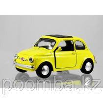 1965 FIAT 500 F желтая 1/32 инерционная