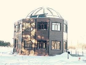 Эко-дом из бруса
