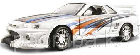 Автомодель Nissan Skyline R34 1:24 Bburago - фото 1