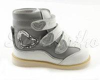Антиварусная ортопедическая обувь с отведенным носком дев (закр)