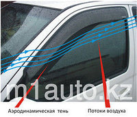 Ветровики/Дефлекторы окон на Mitsubishi Outlander/Митсубиши Аутлендер  2012 -, фото 1