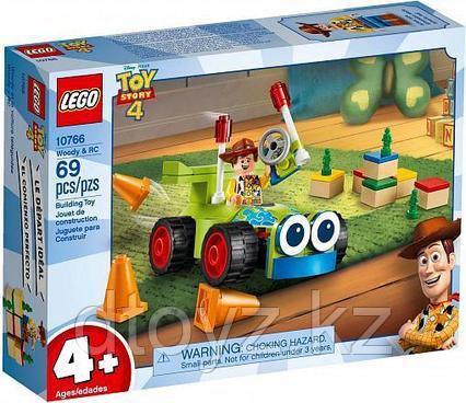 Lego Juniors10766  История игрушек: Вуди на машине, Лего Джуниорс