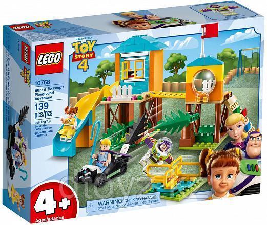 Lego Juniors 10768 История игрушек: Приключения Базза и Бо Пип на детской площадке, Лего Джуниорс