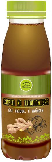 Сироп из топинамбура с имбирем, 250 мл